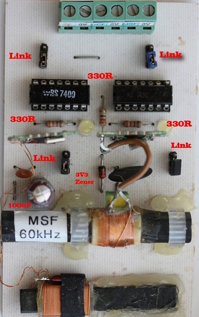 Arduino Dcf Radio Clock Receiver: Dcf powered clock is a